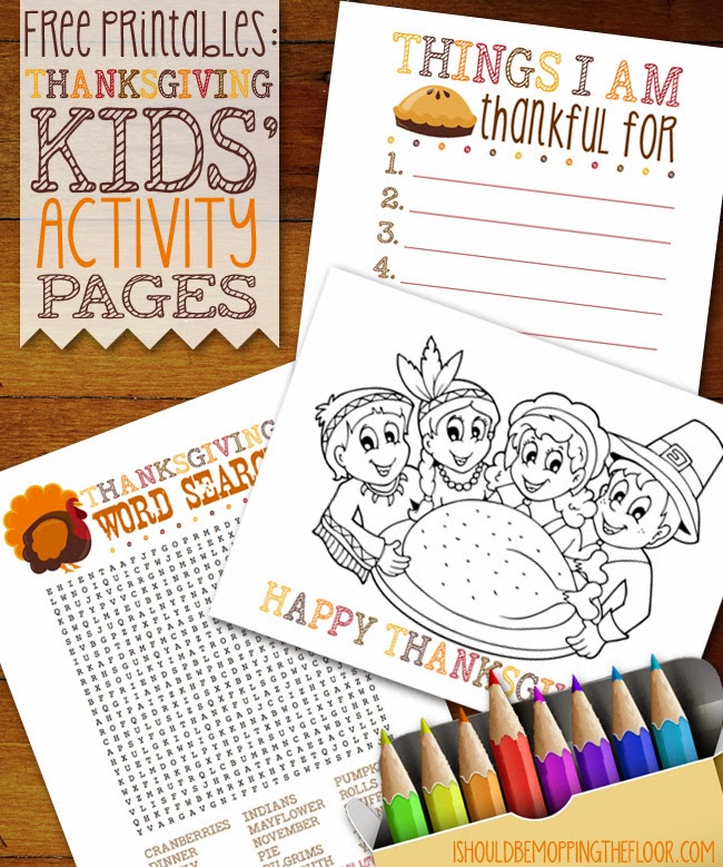 image about Printable Thanksgiving Activity titled Absolutely free Printable Thanksgiving Young children Video game Web pages i must