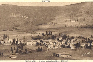 Village de la campagne auvergnate