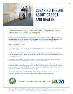 Healthcare and Carpet, Asthma, Allergy Facts