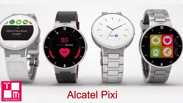 CES 2015 : Pixi smartphones or Smart Watches Alcatel Announces Smartwatch