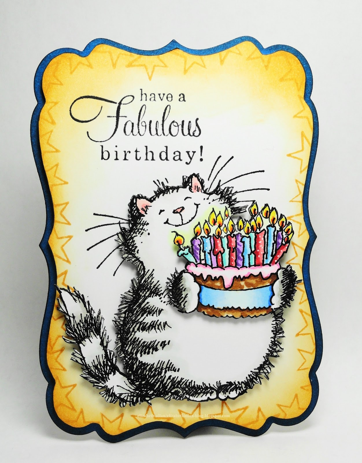 She Is A Cat Lover And I Thought Would Enjoy Seeing This Post With The Birthday Wishes Created For Penny Black Full Of Surprises Catalog