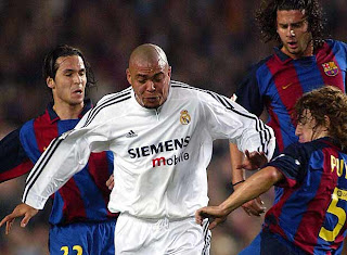 ronaldo real madrid 2003 galctico
