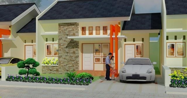 panduan bangunan rumah contoh disain rumah rumah tipe 48