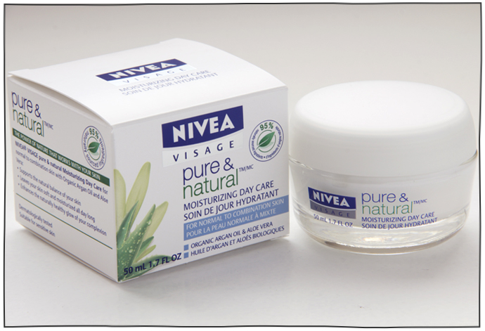 nivea natural face cream