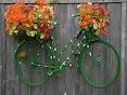 Lindas Bicicletas com Adornos de Flores