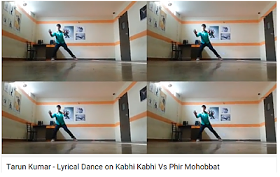 Lyrical Dance by Tarun Kumar