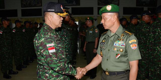 Tim TNI Siap Pertahankan Gelar Juara UMUM dalam AARM ke-25 di Thailand