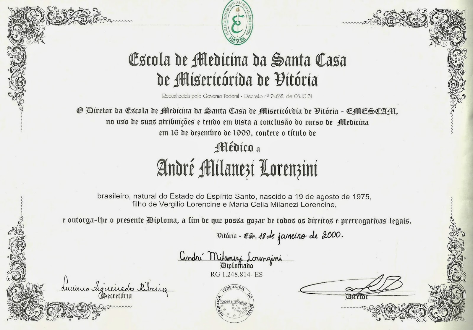 Diploma engenharia