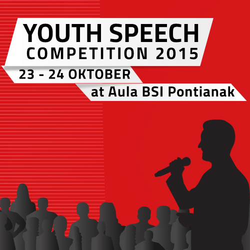 YOUTH SPEECH COMPETITION 2015