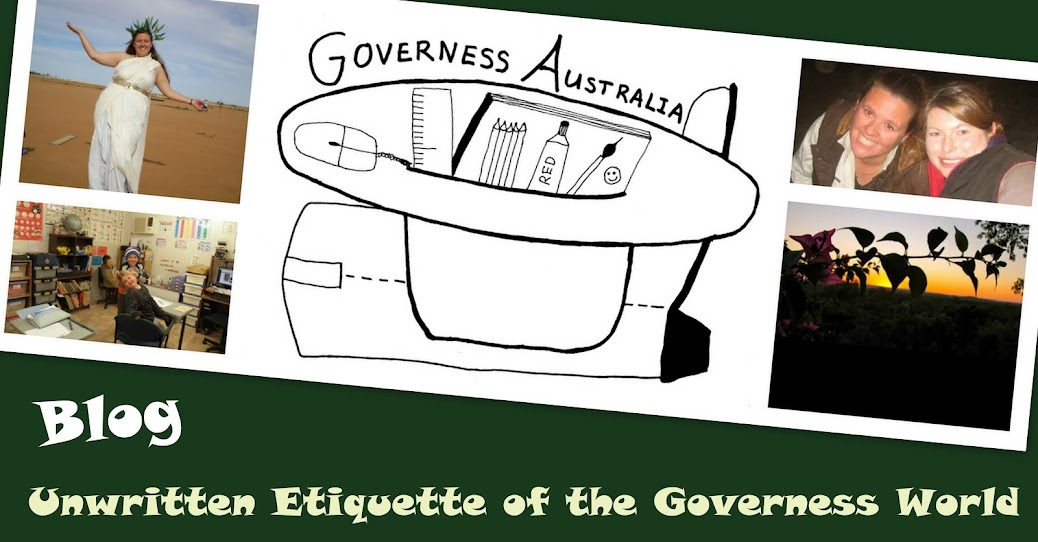 Unwritten Etiquette of the Governess World