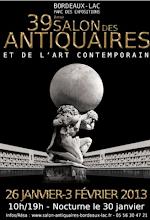 BORDEAUX-LAC : CAPTON AU 39ème SALON DES ANTIQUAIRES ET DE L'ART CONTEMPORAIN