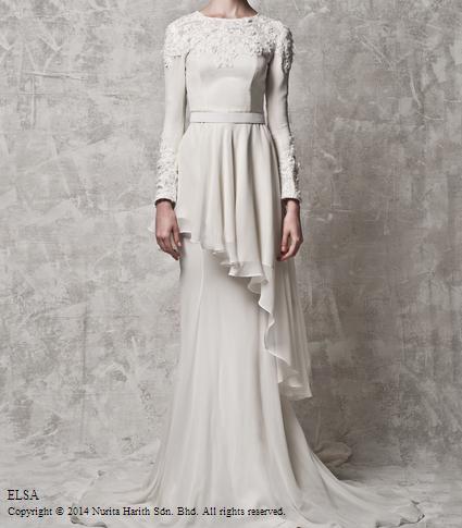 pink bubblegum princess: Baju Pengantin 2014 | Nurita Harith bridal