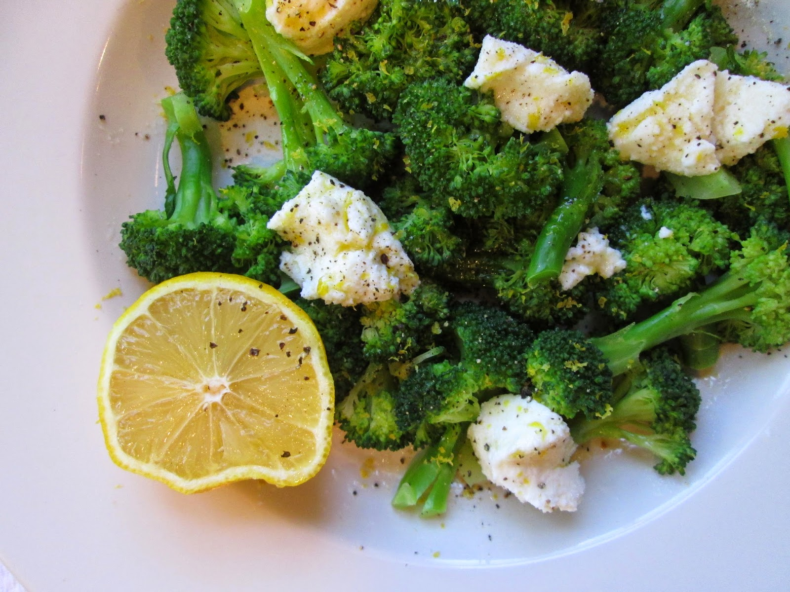 ... the Pot: Diana Henry's Broccoli with Ricotta, Lemon, and Parmesan