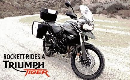Rockett Rides A Tiger!