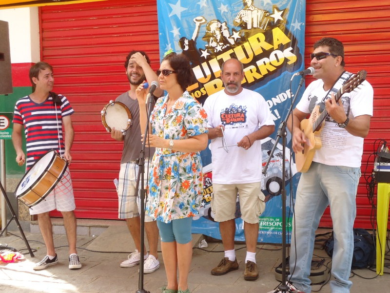 Ayrton Rebello, Pedro Cavalcante, Jeanette Albuquerque, Arnaldo Almeida e Fernando Mello animaram com forró
