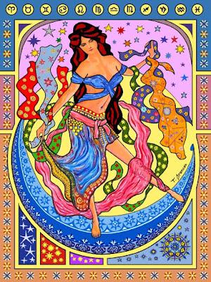 La dansa dels vels impossibles sobre la lluna de Mucha (Toni Arencón Arias)