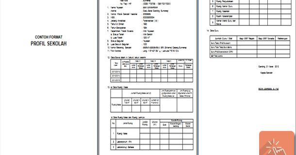Contoh Format Profil Sekolah Download File Pendidikan