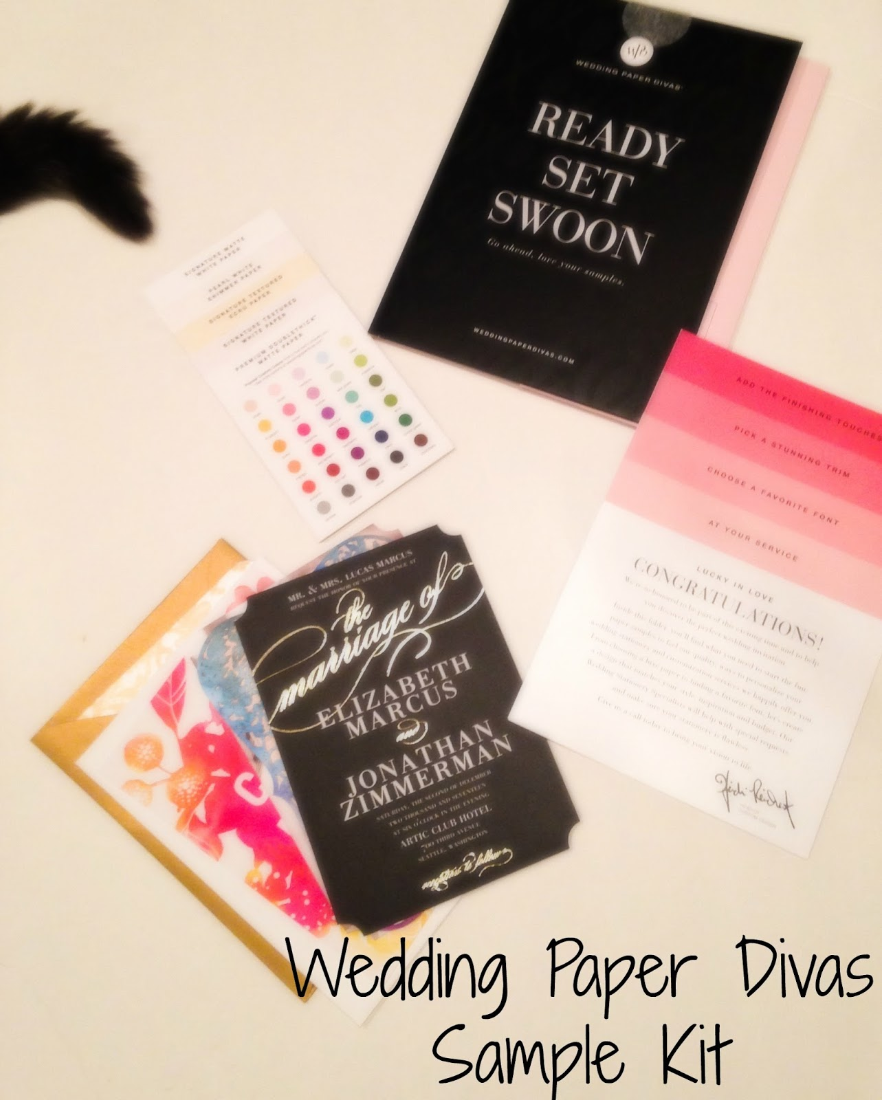 Wedding Paper Diva: The Moy Life: Choosing Wedding Invitations With Wedding