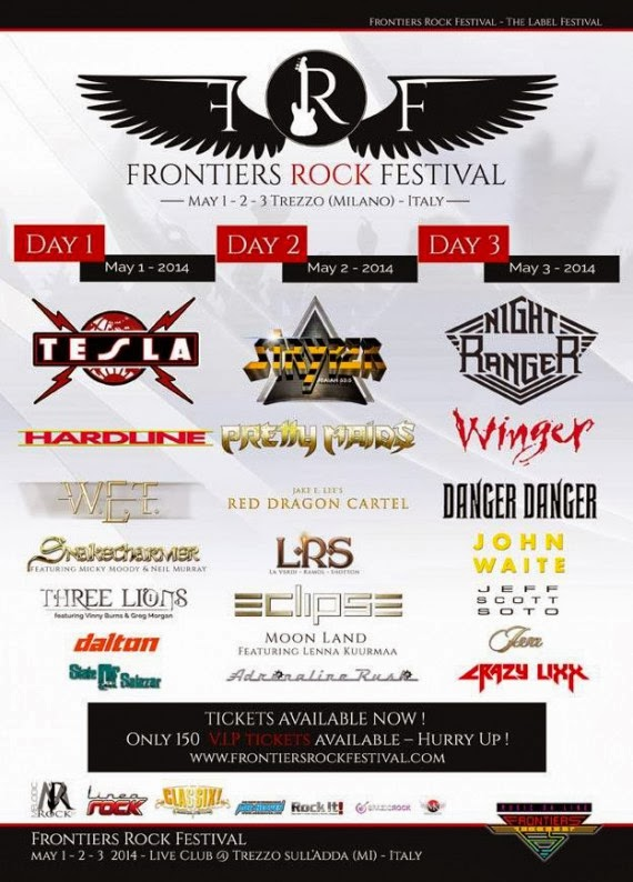 frontiers rock festival 2014