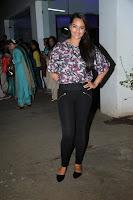 Sonakshi Sinha at the special screening of 'Bullett Raja'
