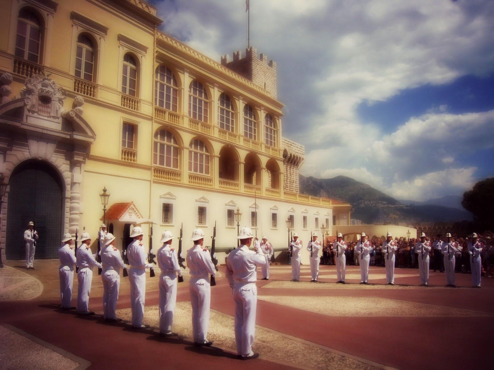 Cambio de guardia Monaco