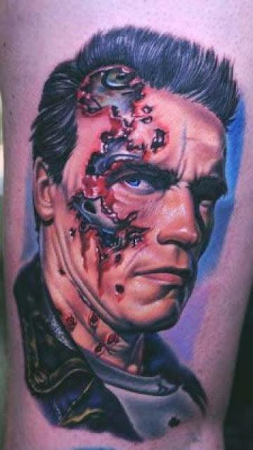 Tatuaje de Terminator