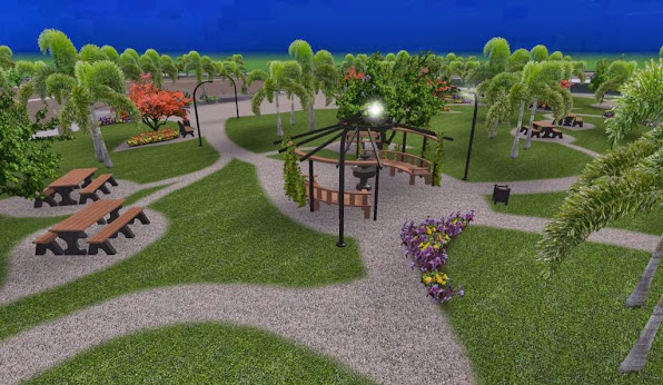 diseño 2 parque ecologico iluminacion noche foto 1