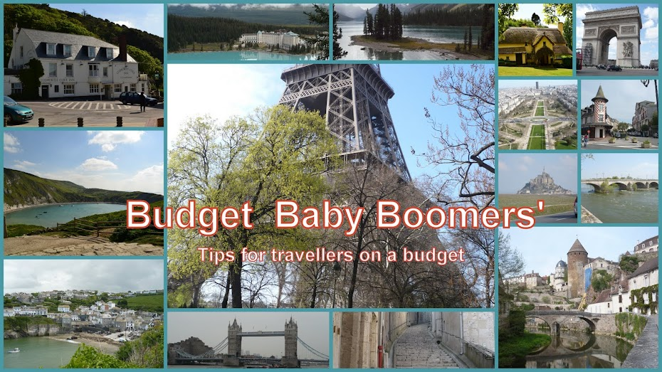 Budget  Baby Boomers' Travel Tips