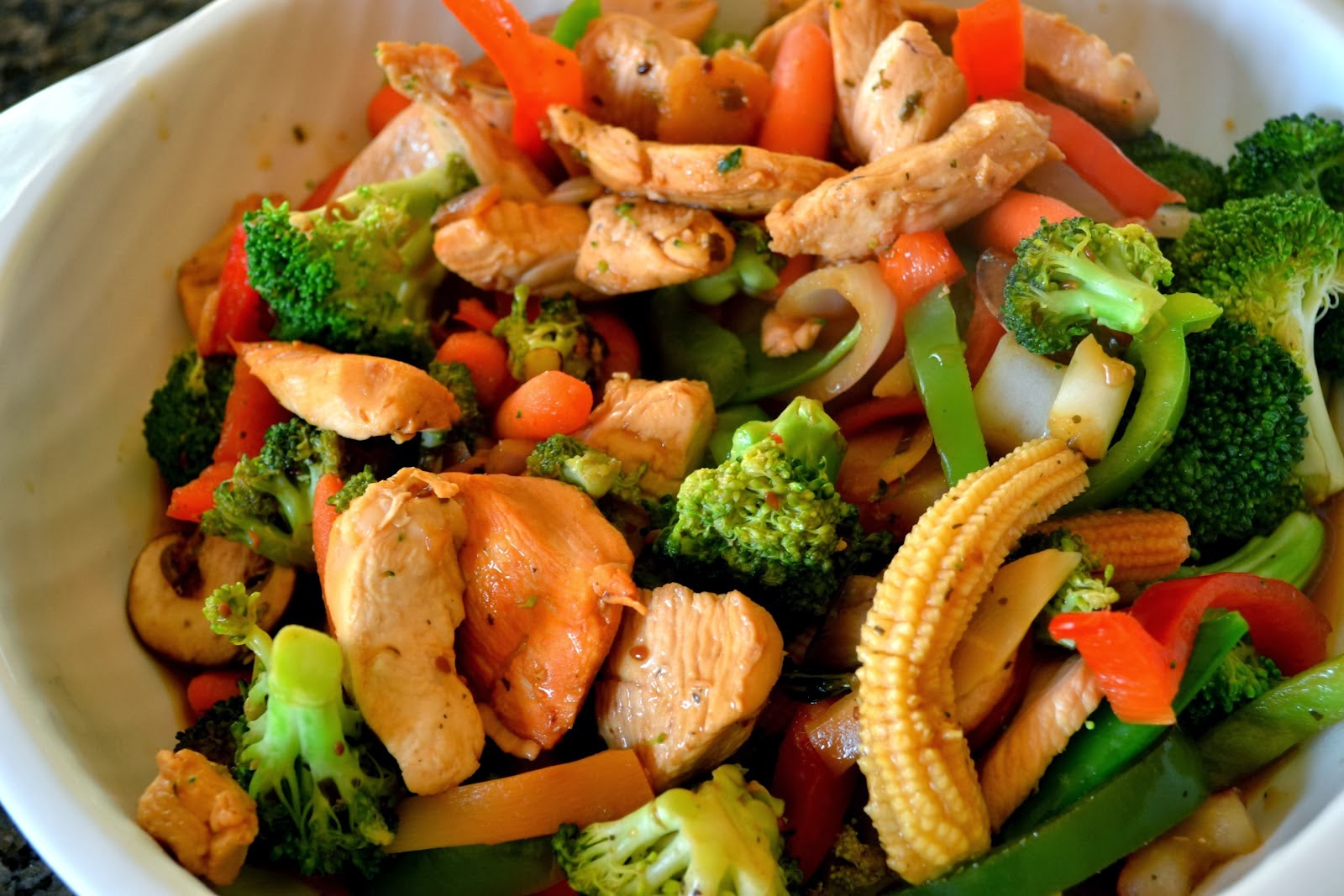 Mommy Testers Typical Stir Fry