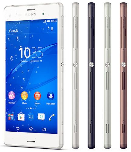 Fitur Dan Spesifikasi Handphone Sony Xperia Z3