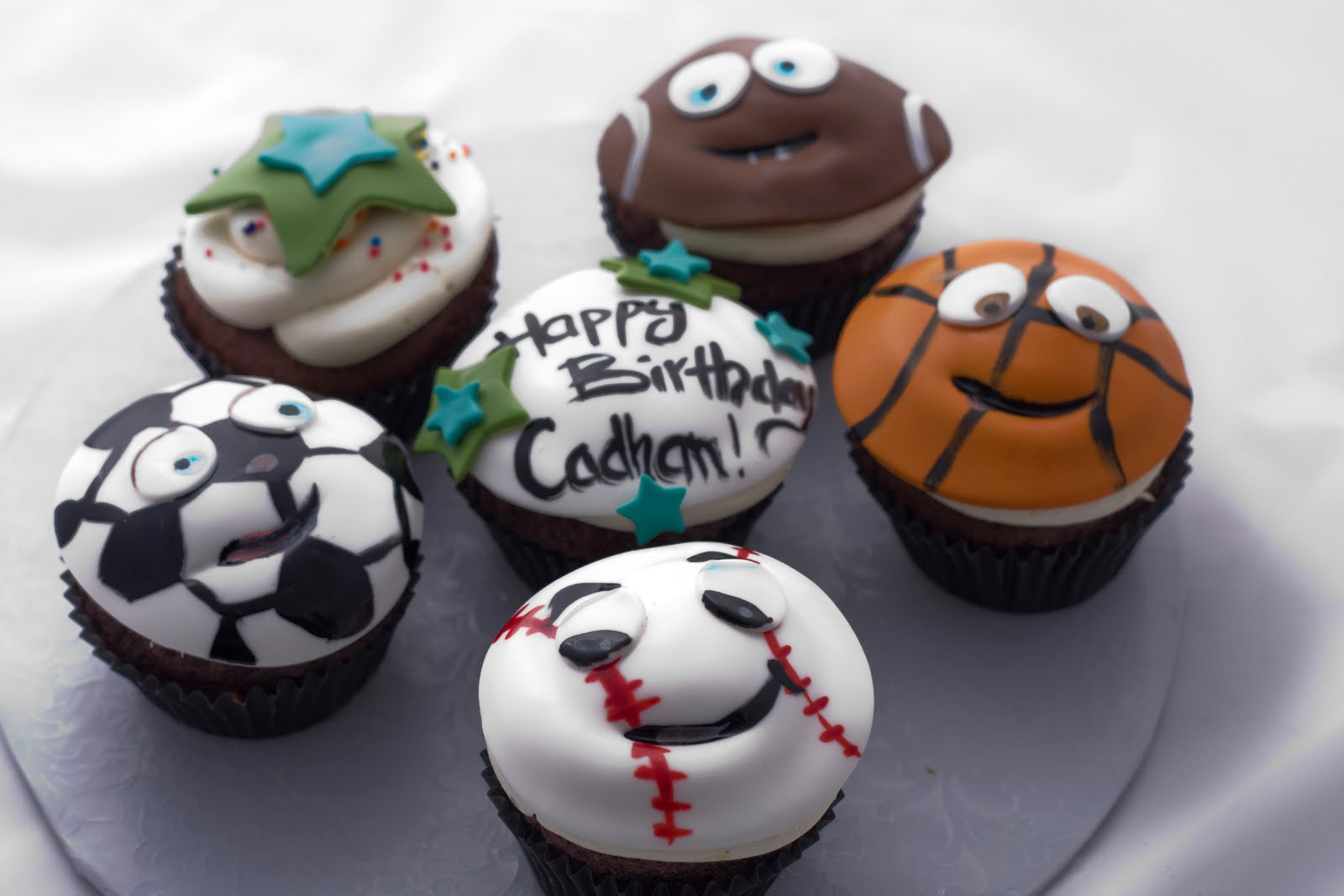Sports Cupcake Ideas 32