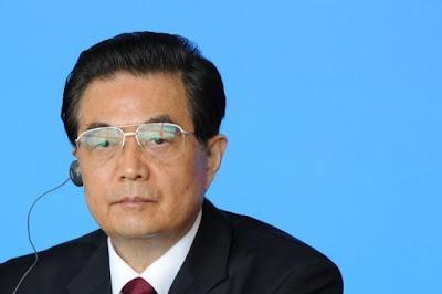 CHINESE NAVY PREPARE FOR WAR - PRESIDENT HU JINTAO