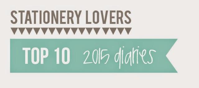 Top 10 2015 diaries