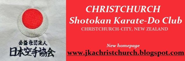 CHRISTCHURCH SHOTOKAN KARATE CLUB