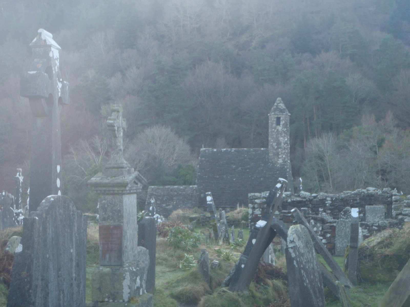 Dispatches from Dublin: Glendalough - celebrating Ella\'s birthday