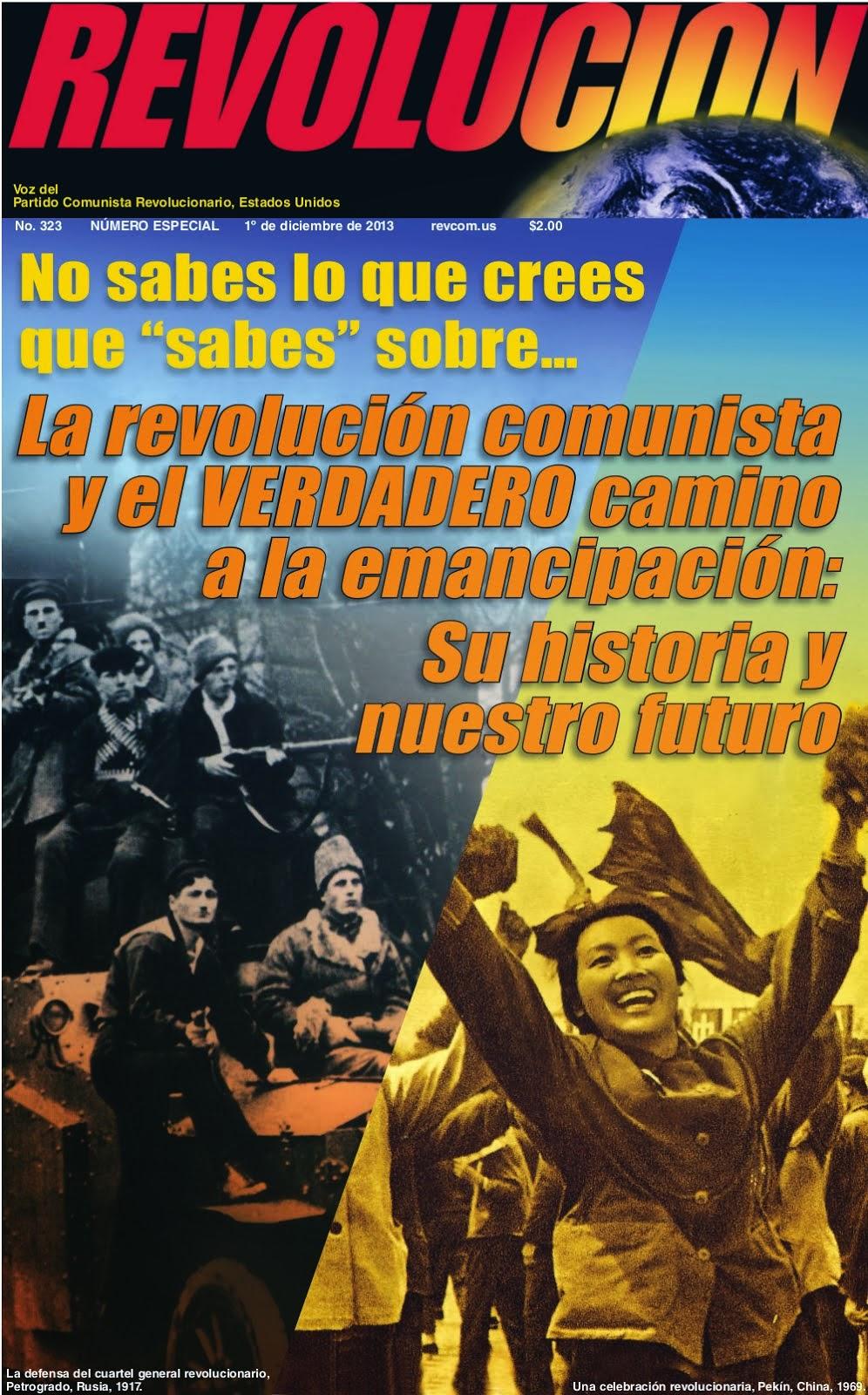 Periódico Revolución especial #323