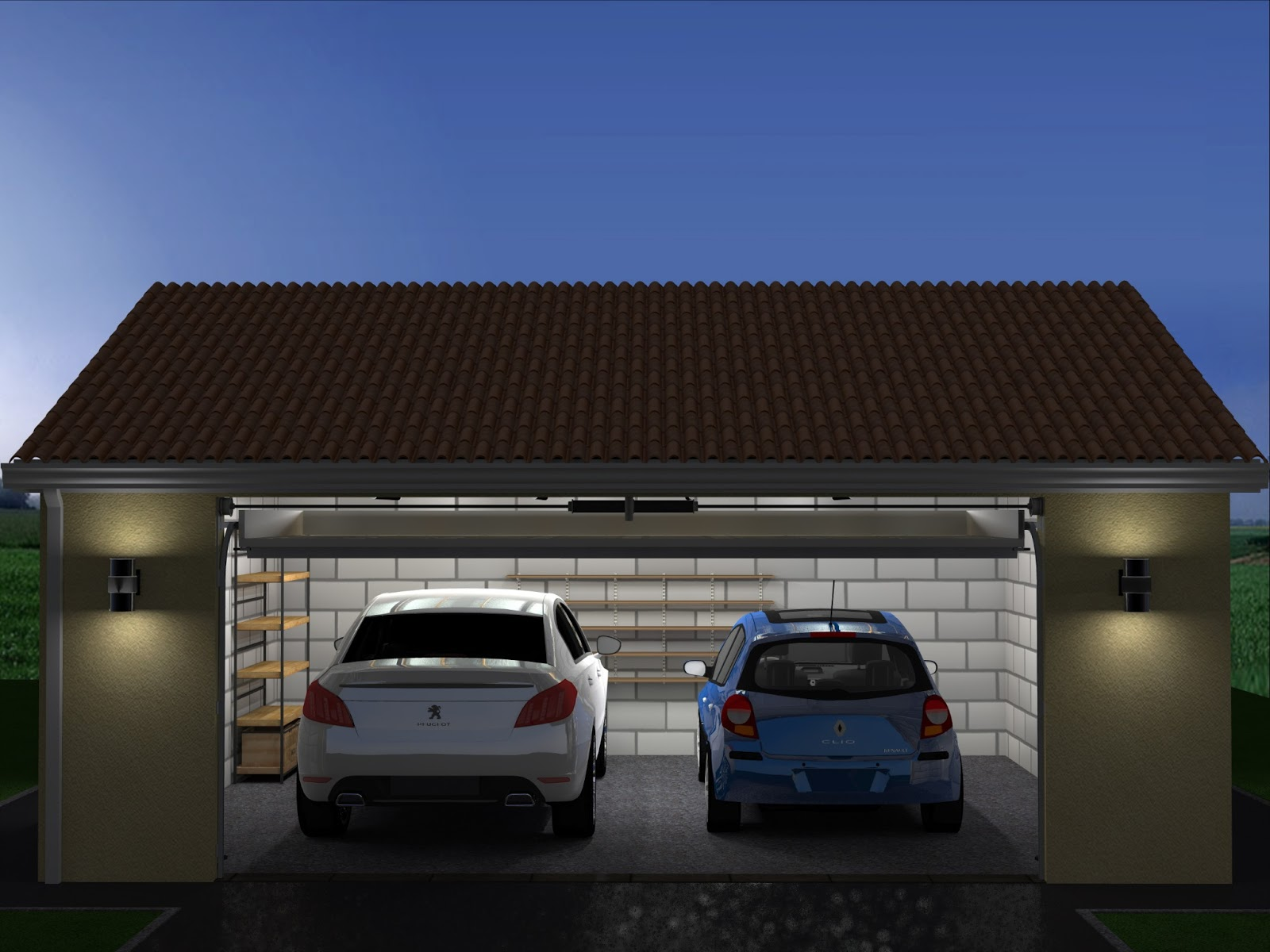 Conception construction de projets ext rieurs for Construire un garage
