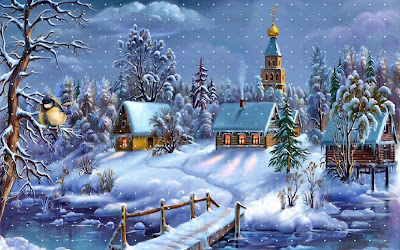Christmas Backgrounds 3D