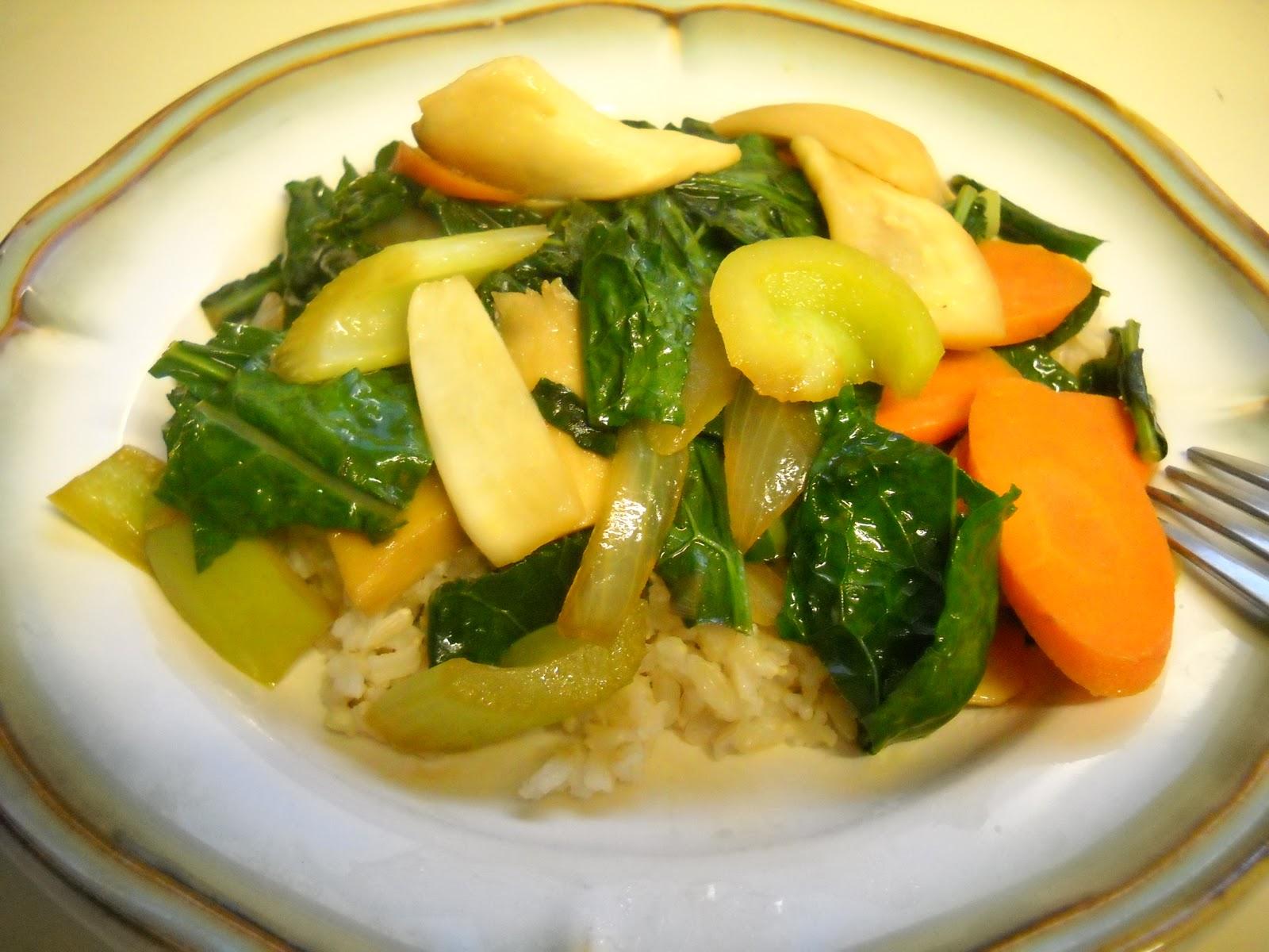 Blessed Vegan Life: Winter Veggie Stir-Fry