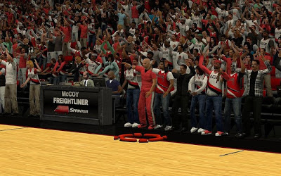 NBA 2K13 Portland Trail Blazers Crowd Fix Mod
