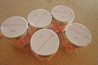 Gastgeschenke für kleine Hochzeitsgäste - Marshmallows