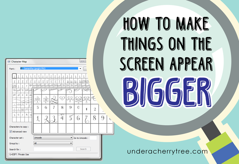 http://underacherrytree.blogspot.com/2014/11/how-to-make-things-on-screen-appear.html