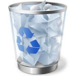 La papelera de reciclaje:
