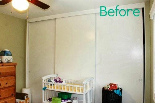 Anchor accent wall using Silhouette #craftmonthlove #nautical #nursery #boysroom #blackandwhite #vinyl