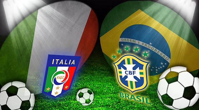 Prediksi Pertandingan Italia vs Brasil