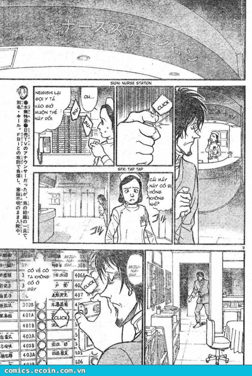 Detective Conan - Thám Tử Lừng Danh Conan chap 598 page 9 - IZTruyenTranh.com