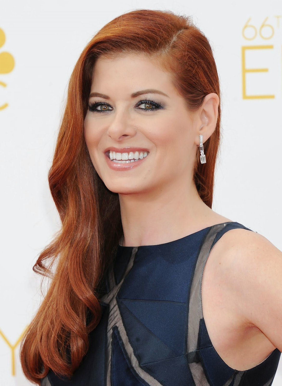 Debra Messing – 2014 Primetime Emmy Awards in Los Angeles