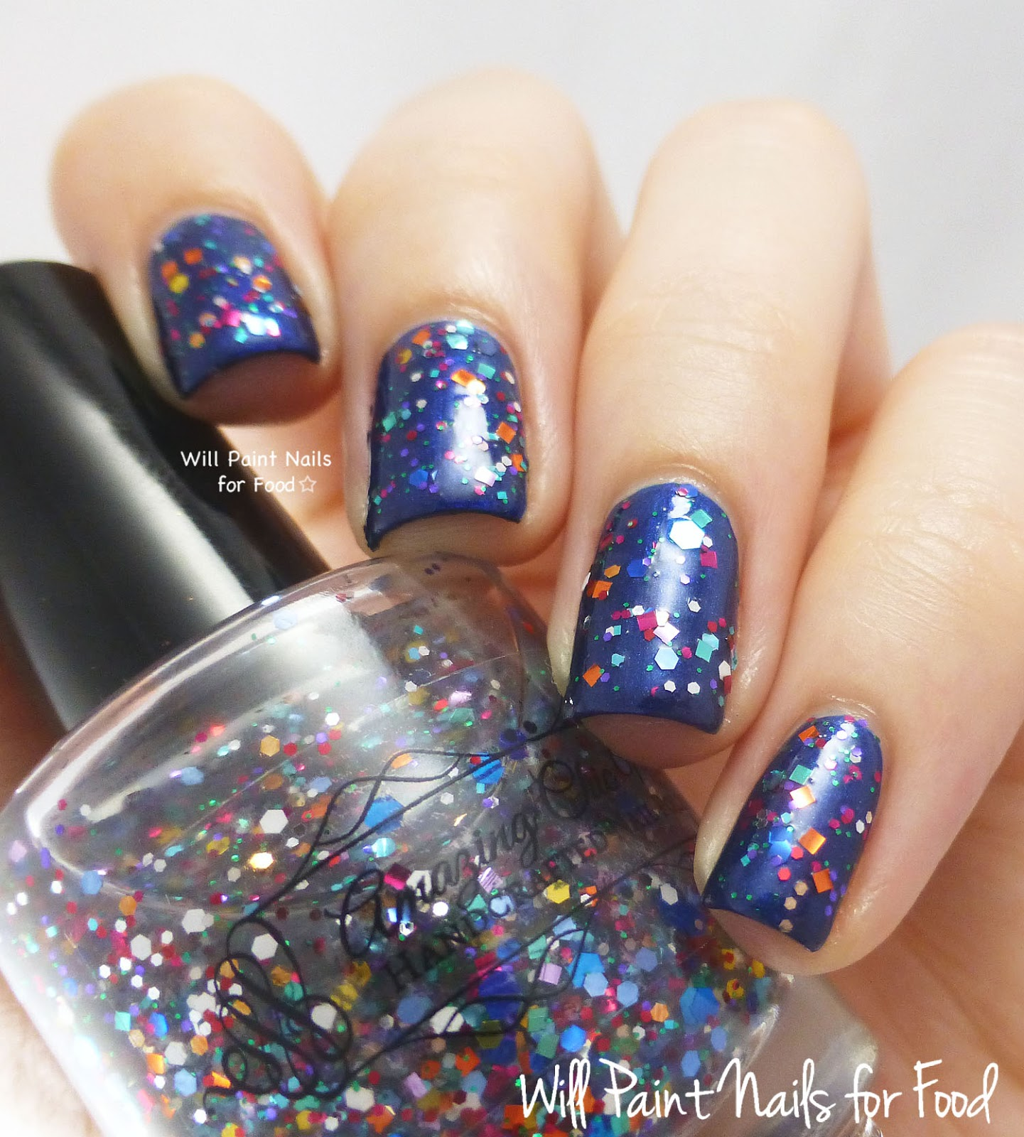 Amazing Chic Nails Omnishambles swatch
