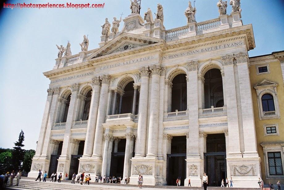 Basílica de San Juan de Letrán. Roma.