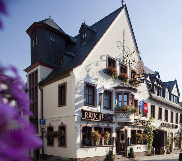 The charming Central Hotel in Rüdesheim, Germany. Photo: © Central Hotel and the German National Tourist Office. Unauthorized use is prohibited.